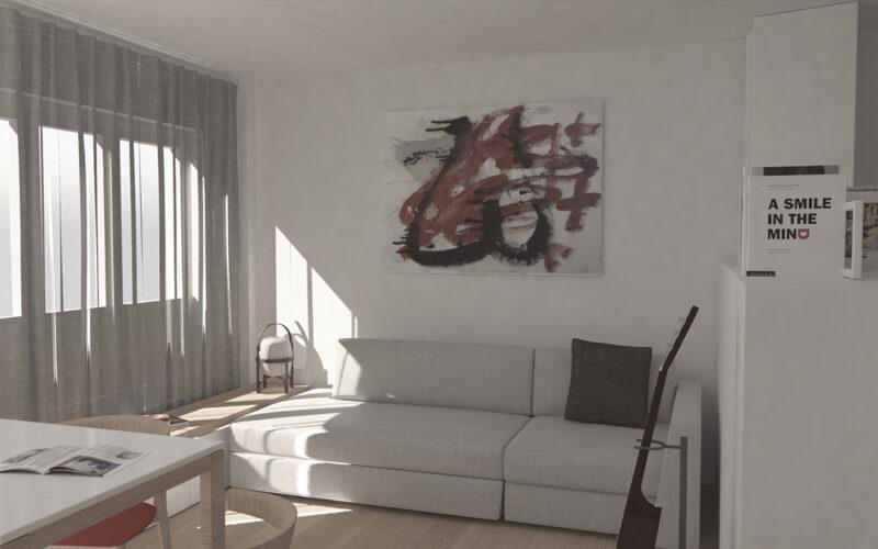 02-Reforma de estudio-apartamento-pontedeume-vista-estar