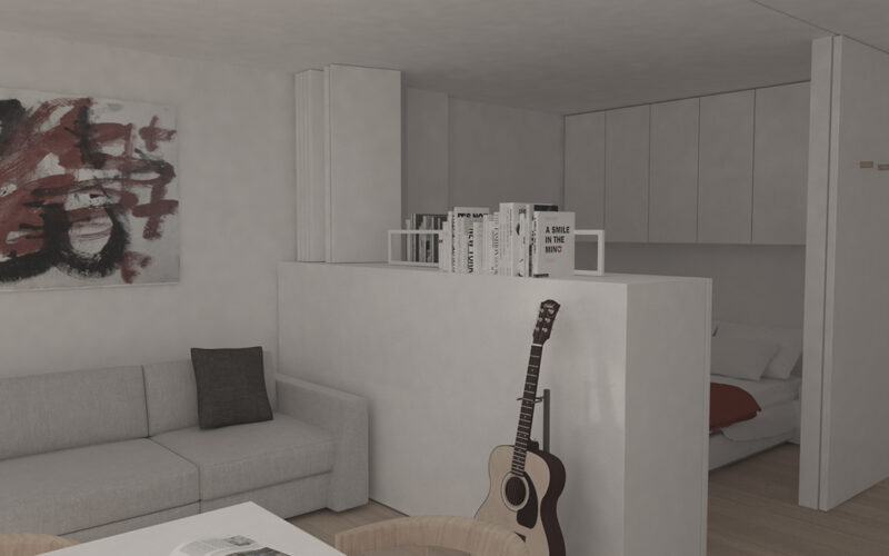 03-Reforma de estudio-apartamento-pontedeume-vista-zon-dormir