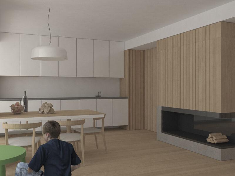 03-Rehabilitación-bloque-viviendas-Betanzos-Coruña-vista-cocina-estar