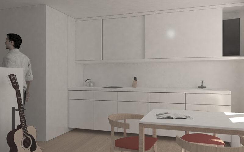 05-Reforma de estudio-apartamento-vista-pontedeume-cocina